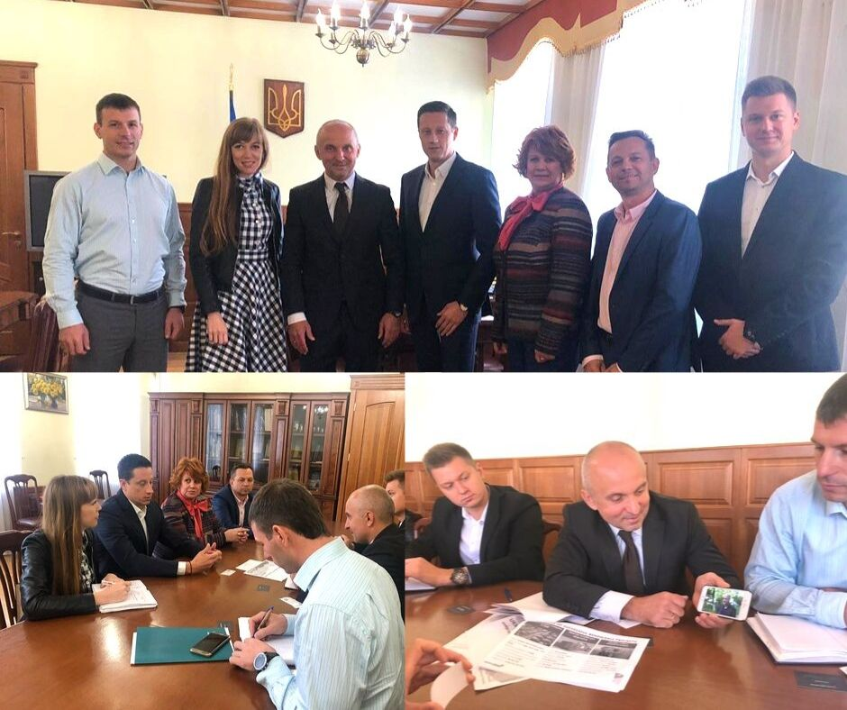 Meeting with the head f the State Energy Efficiency of Ukraine
