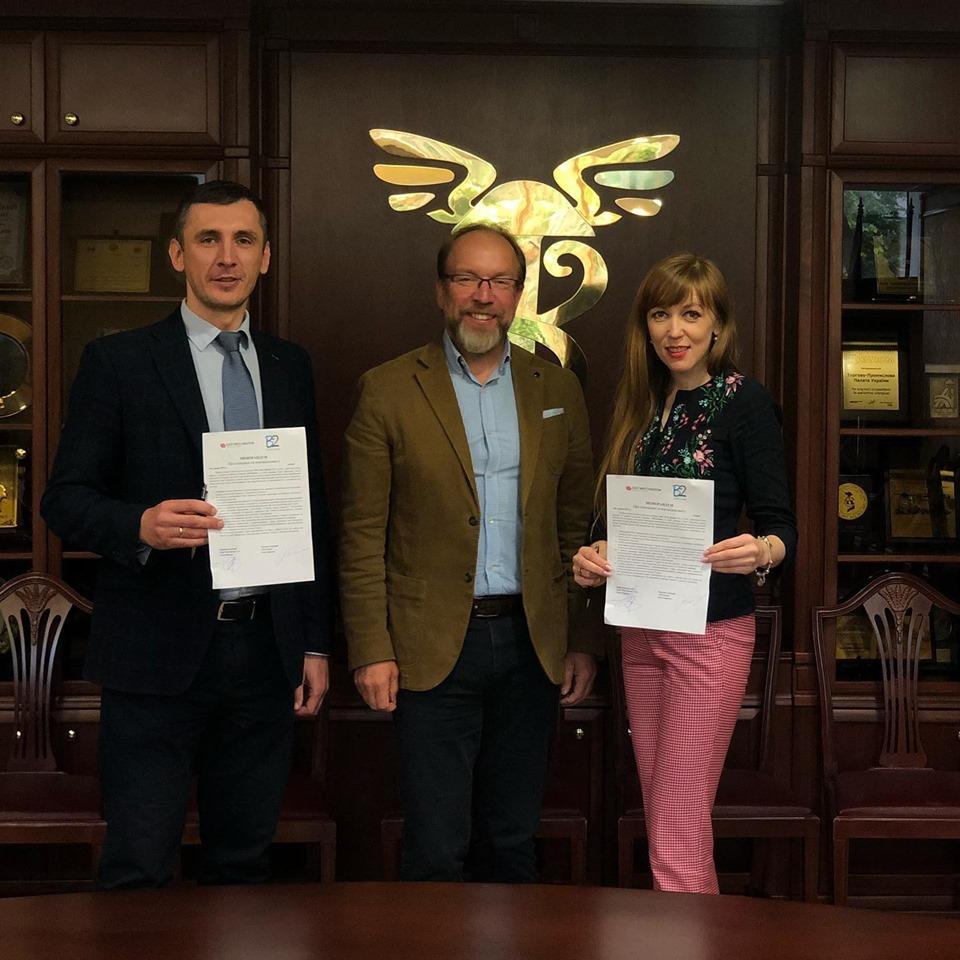 Компанія Еast West Mentor підписала угоду про співпрацю з B2Ukraine