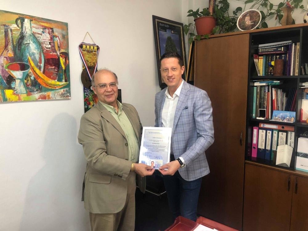 Золтану Хорвату продовжили представницькі функції ТППУ в Угорщині
