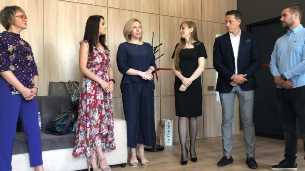Kijevi irodánk hivatalos megnyitója