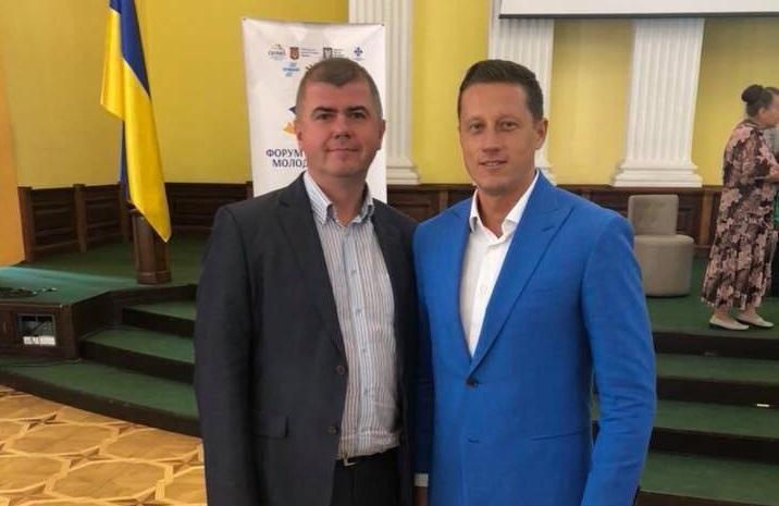 Zoltan Horvath отримав почесну грамоту Міністерства молоді та спорту України