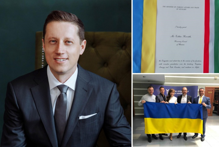 The owner of the company East West Mentor Zoltan Horvath has been appointed Honorary Consul