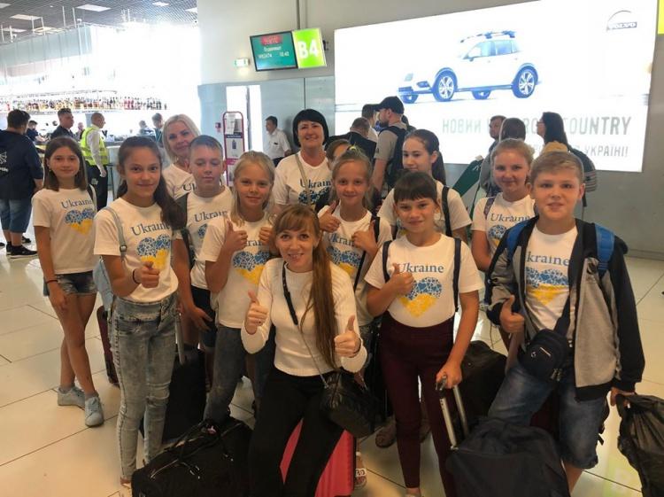 Волноваські школярі вирушили на відпочинок до Угорщини
