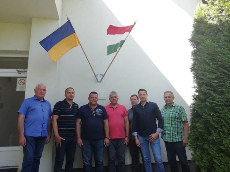 На запрошення Золтана Хорвата представники ДК «Укрторф» з робочим візитом відвідали Угорщину